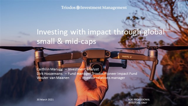 Triodos IM: Investing with impact through global small & mid caps