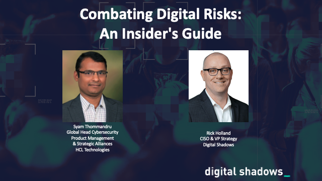 Combating Digital Risks - An Insider's Guide