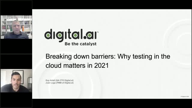 Why testing in the cloud matters in 2021