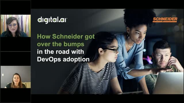 How Schneider got over the bumps in the road with DevOps adoption