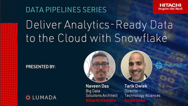 Deliver Analytics-Ready Data to the Cloud with Snowflake