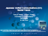 Japanese Unified Communications Applications Market Trends