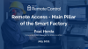 Remote Access - Main Pillar of the Smart Factory