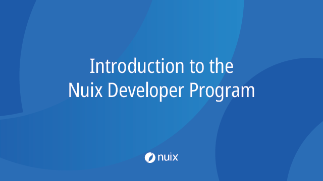 Your Introduction to the Nuix Developer Program