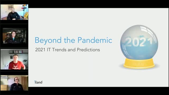 Beyond the pandemic: IT 2021 Trends and Predictions