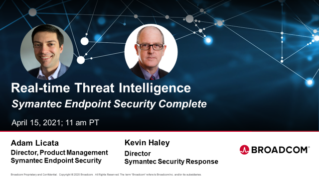 Threat Intelligence from Symantec Endpoint Security Complete