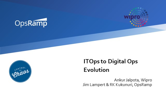 ITOps to Digital Ops Evolution