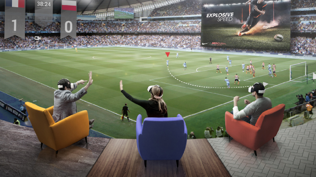 Explore the Future of Fan Engagement with Sports VR/AR