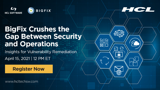 BigFix Crushes the Gap Between Security and Operations
