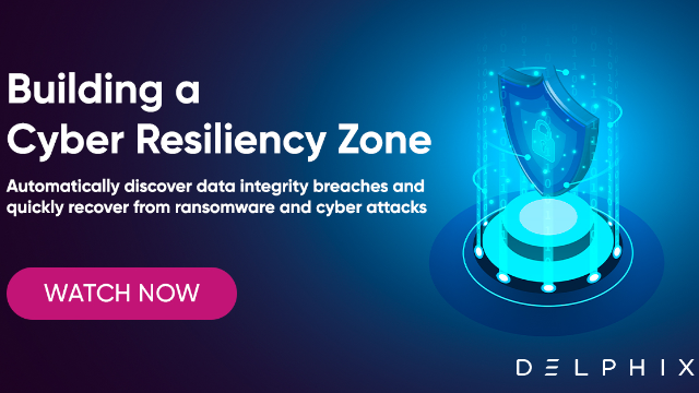 Building a Cyber Resiliency Zone