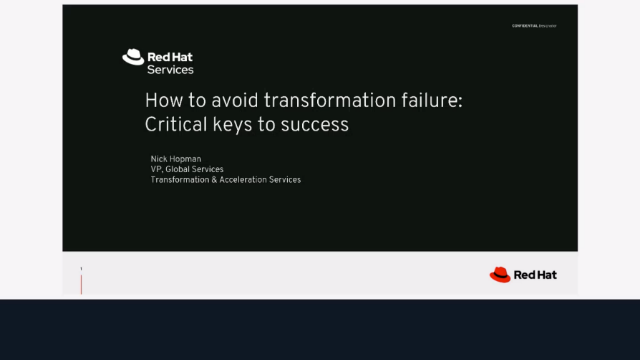 How to avoid transformation failure: Critical keys to success