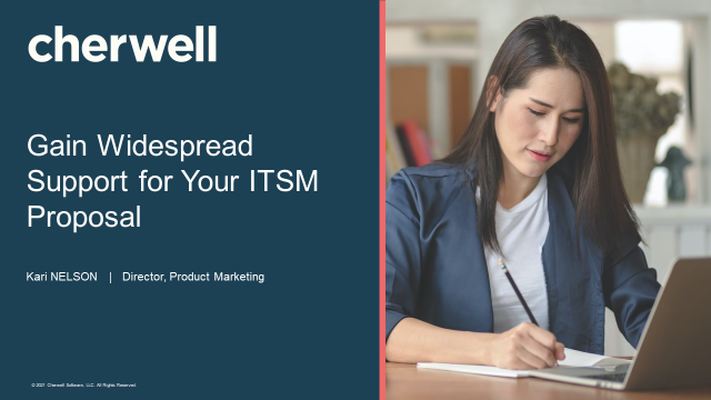 Gain Widespread Support for Your ITSM Proposal