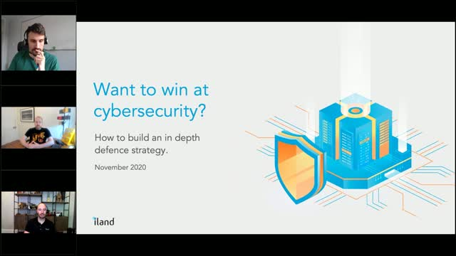 Want to win at Cybersecurity? How to build an in depth defence strategy
