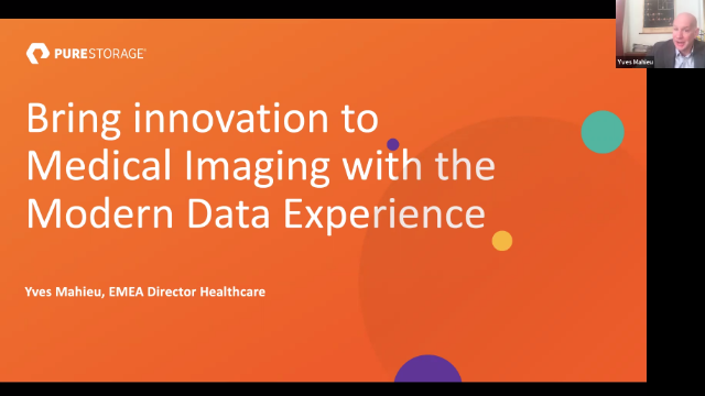 The Modern Data Experience for Medical Imaging