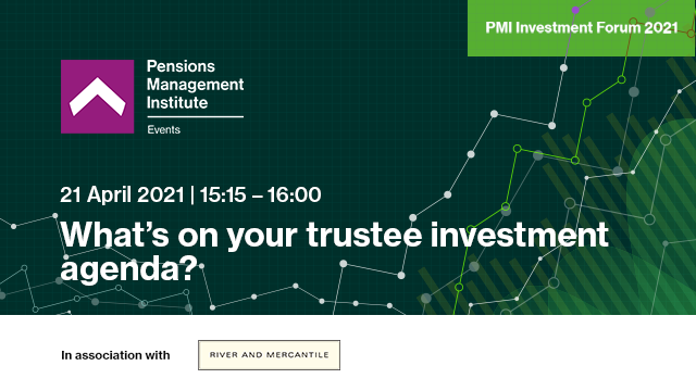 What's on your trustee investment agenda?