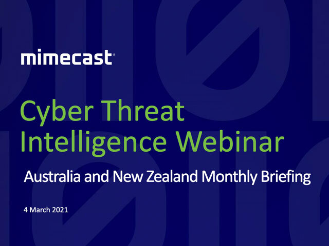 Ep 3 - Australia and NZ Cyber Threat Intelligence Briefings