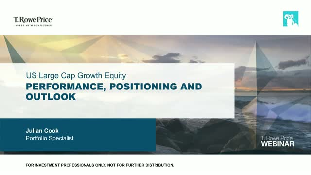 US Large Cap Growth Equity – Performance, positioning and outlook