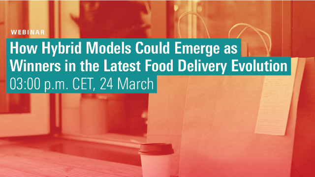 How hybrid models could emerge as winners in the latest food delivery evolution