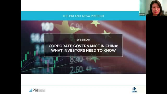 Corporate Governance in China: What Investors Need to Know