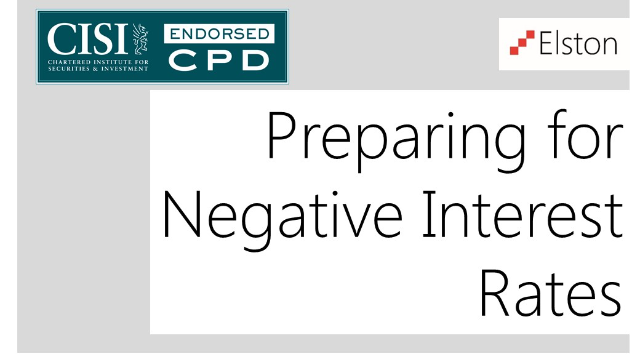 CPD: Preparing for Negative Interest Rates