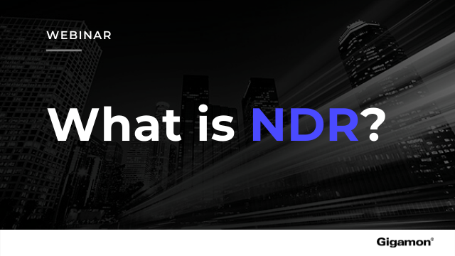 What is NDR?