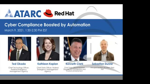 Panel: Cyber Compliance Boosted by Automation