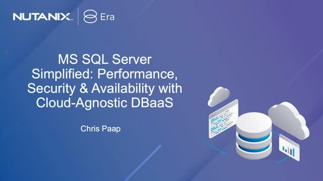 MS SQL Server Simplified: Performance, Security & Availability DBaaS