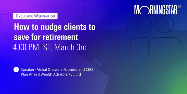 How to nudge clients to save for retirement