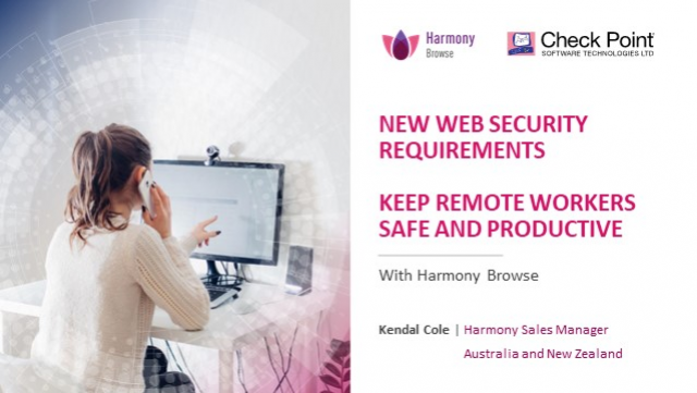 The Revolution in Web Security: Keep Remote Workers Safe and Productive