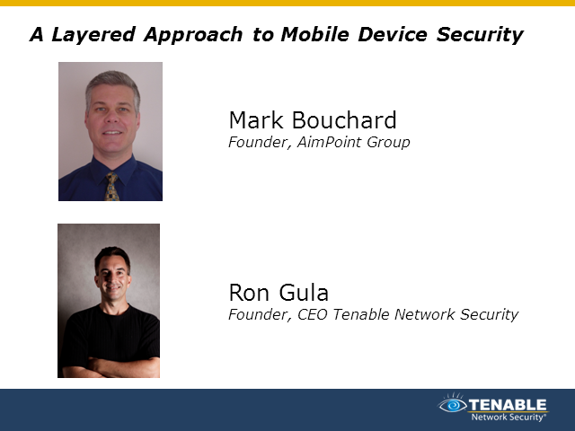 A Layered Approach to Mobile Security