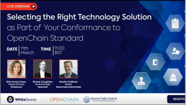 Selecting Right Technology Solution as Part of Your Conformance to OpenChain ISO