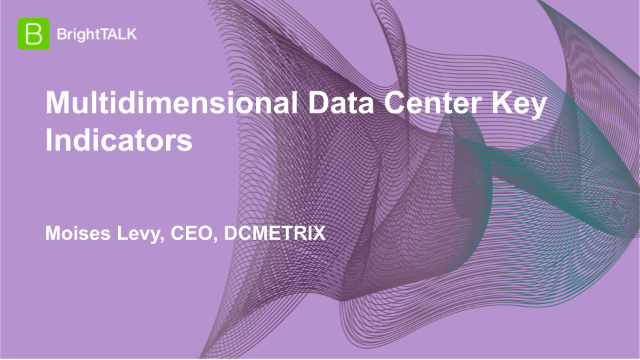 Multidimensional Data Center Key Indicators
