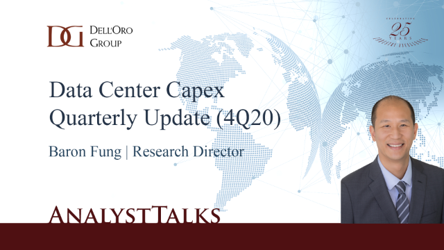 Key Takeaways - 4Q20 Data Center Capex