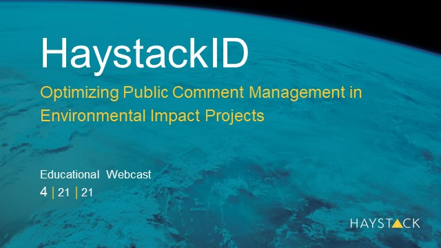 Optimizing Public Comment Management in Environmental Impact Projects