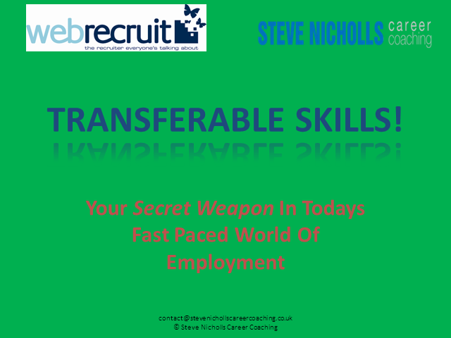 Unlocking the secret to transferable skills
