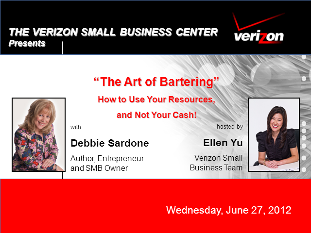 The Art of Bartering:  use your resources, not your cash!