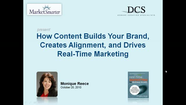 How Content Builds Your Brand, Creates Alignment, and Drives Real-Time Marketing