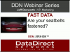 Fast Data:  Are Your Seatbelts Fastened?
