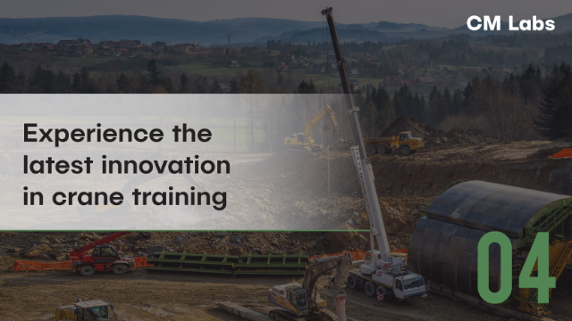 LIFTING: Experience the latest innovation in crane training