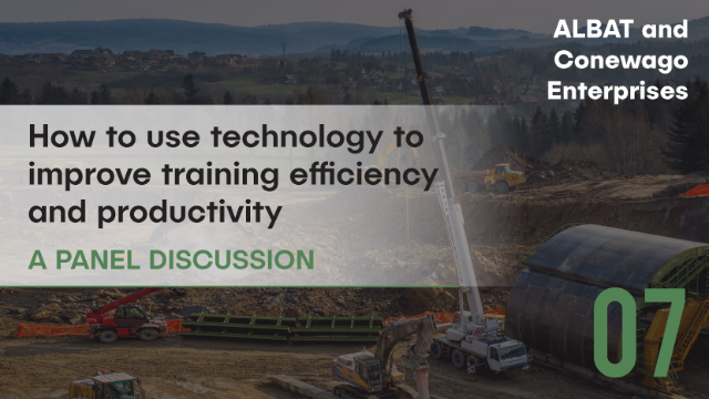 EARTHMOVING: Using technology to improve training efficiency and productivity