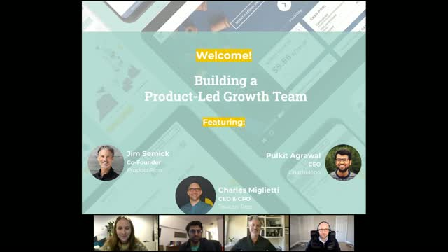 Building a Product-Led Growth Team