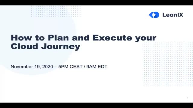 How to Plan and Execute Your Cloud Journey