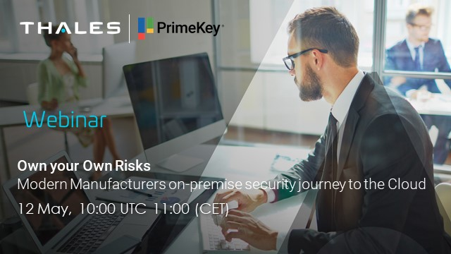 Own your Own Risks - Modern Manufacturers on-prem security journey to the Cloud