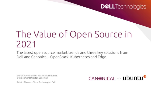 The Value of Open Source in 2021