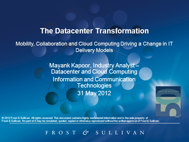 The Datacenter Transformation