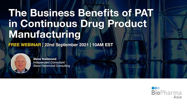 The Business Benefits of PAT in Continuous Drug Product Manufacturing