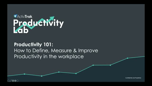 Productivity 101: How to Define, Measure, And Improve Workplace Productivity