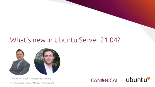 What's new in Ubuntu Server 21.04?