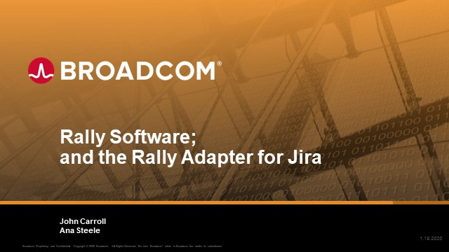 Bringing Enterprise Visibility to your Organization by Connecting Rally and Jira