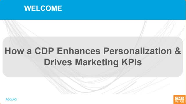How a CDP Enhances Personalisation & Drives Marketing KPIs